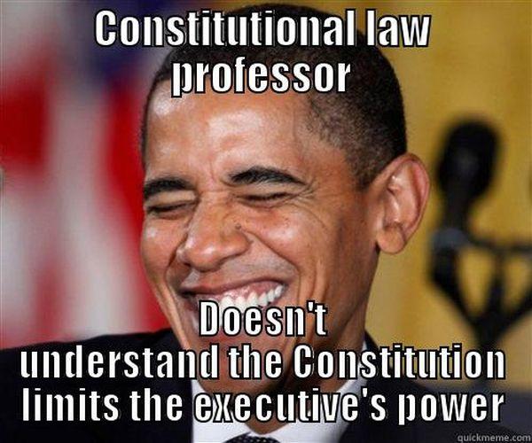 Obama The  U0026quot Constitutional Law Professor U0026quot   That U0026 39 S A Lie