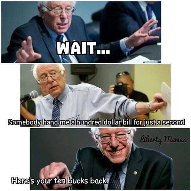 Bernie Change 750