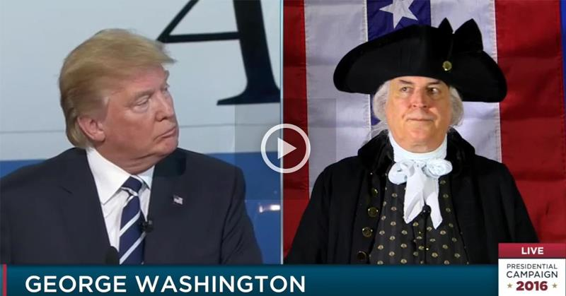 George Washington Hijacked Presidential Debates
