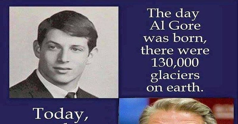 al gore vs al gore FB powerful meme brilliantly exposes climate change scam
