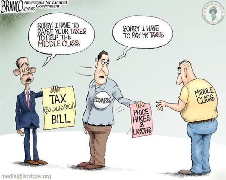 essay on raising taxes