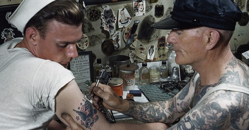 Navy embraces body art adopts liberal tattoo policy for Army officer tattoo policy