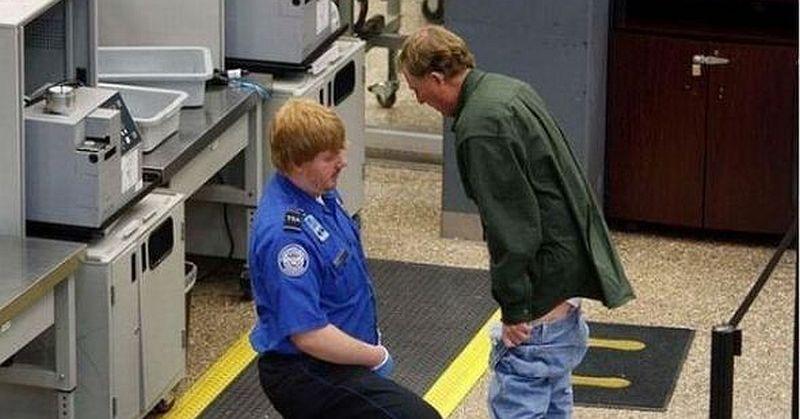 TSA groin search