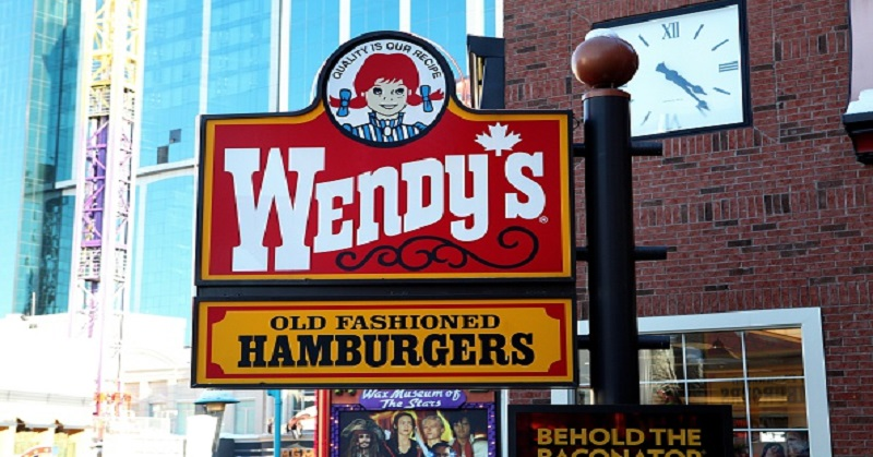 NIAGARA FALLS, ONTARIO, CANADA - FEBRUARY 28:  Wendy's restaurant on February 28, 2015 in Niagara Falls, Ontario, Canada. (Photo By Raymond Boyd/Getty Images)