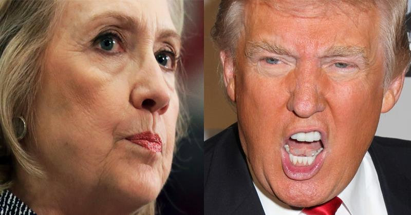 Hillary Clinton vs Donald Trump 523453