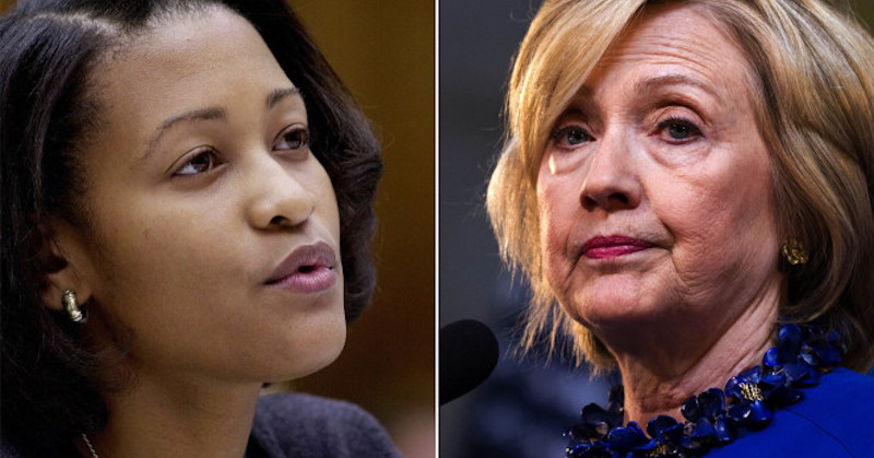 cheryl mills with clinton