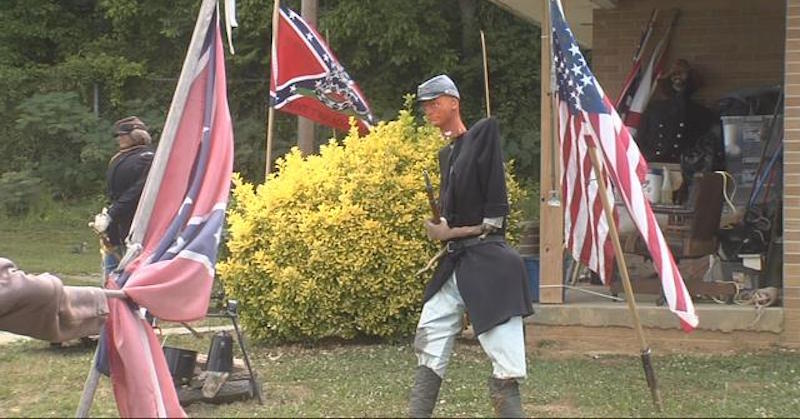 confederate battle display