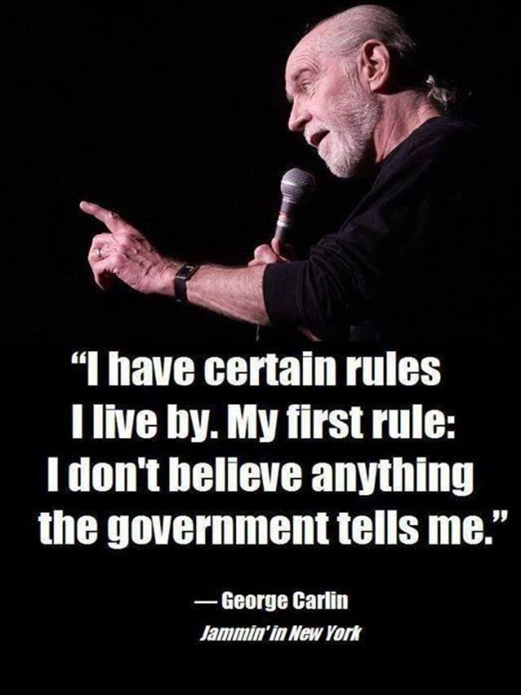 george carlin reveals the brutal truth about government