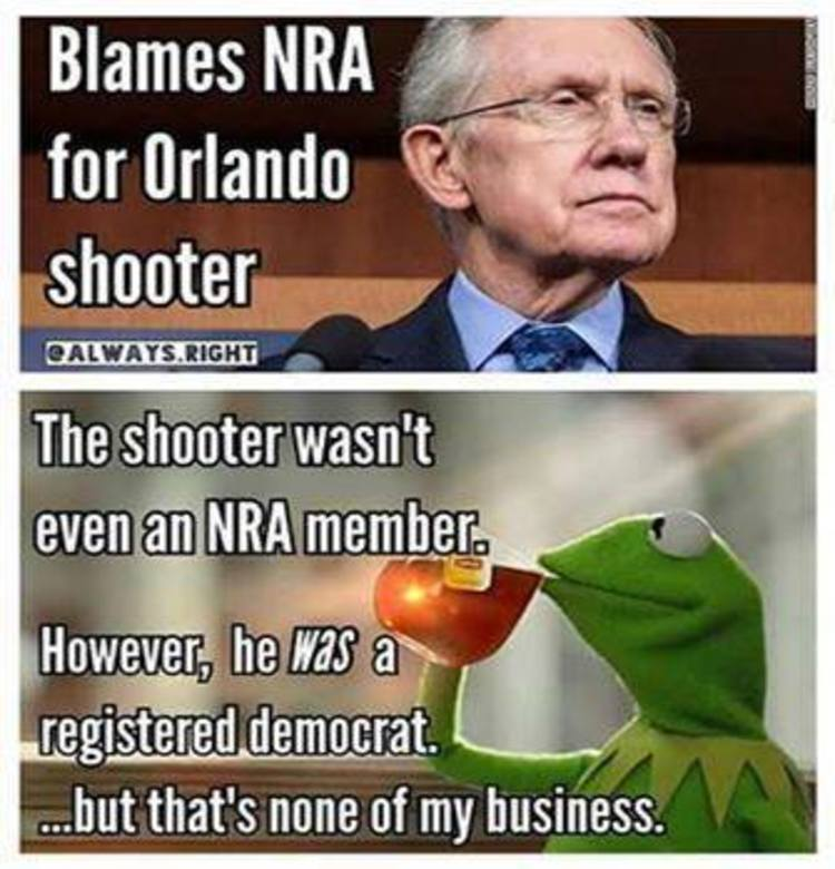 The Nra Vs Democrats Explained In Epic Meme