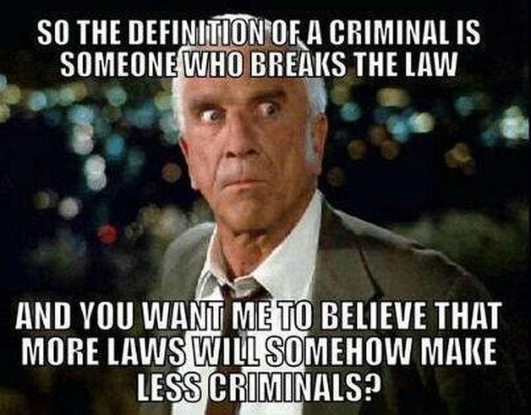 more laws less criminals