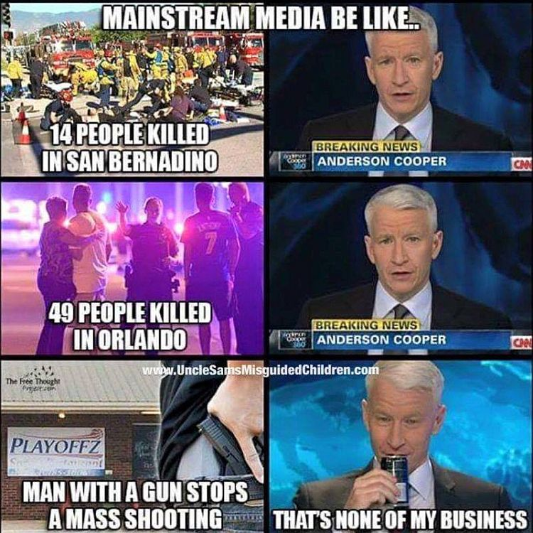 The Liberal Mainstream Media On Guns Perfectly Summed Up In 6 Images