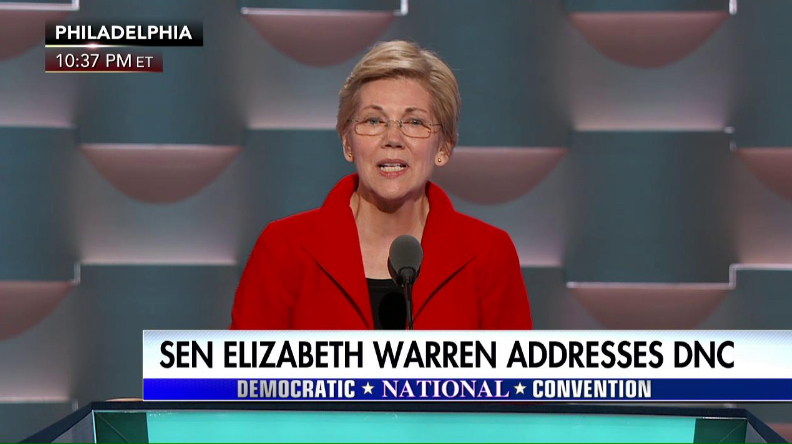 Warren-DNC
