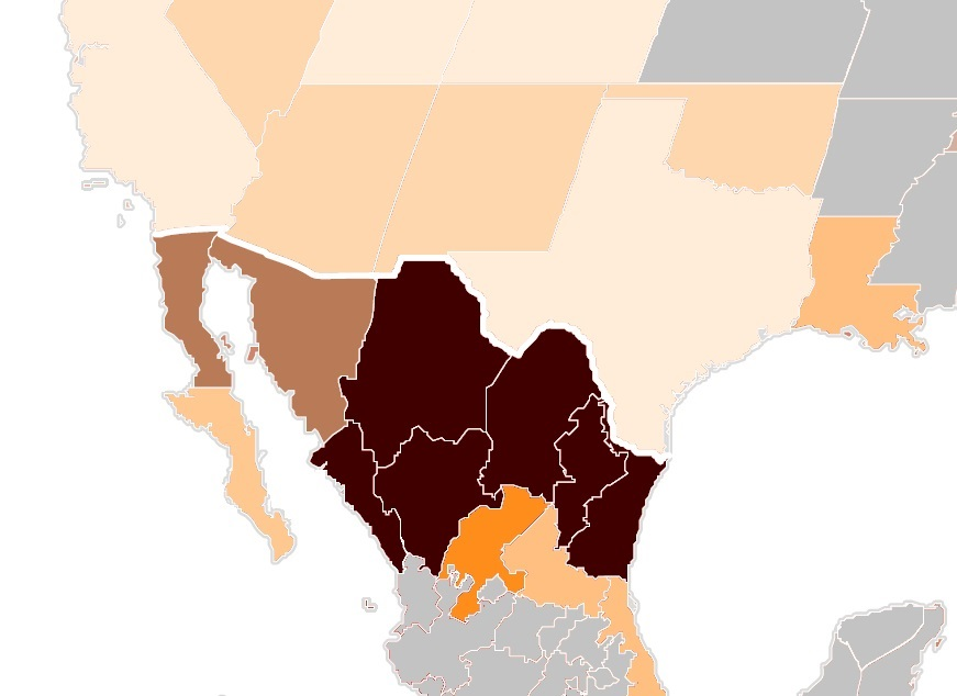 crime rate mexico states us state