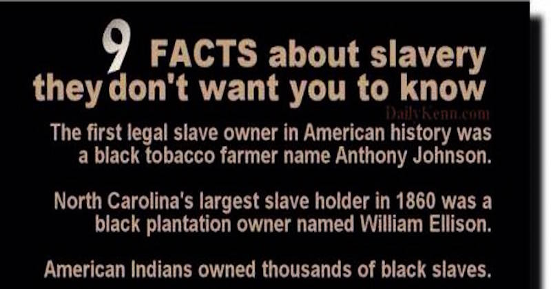 9 facts about slavery they don 39 t teach in school for Good facts about america