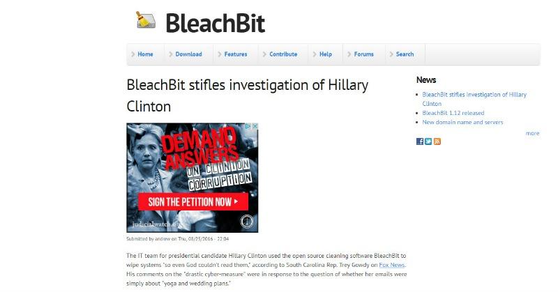 bleachbitclintoninvestigation