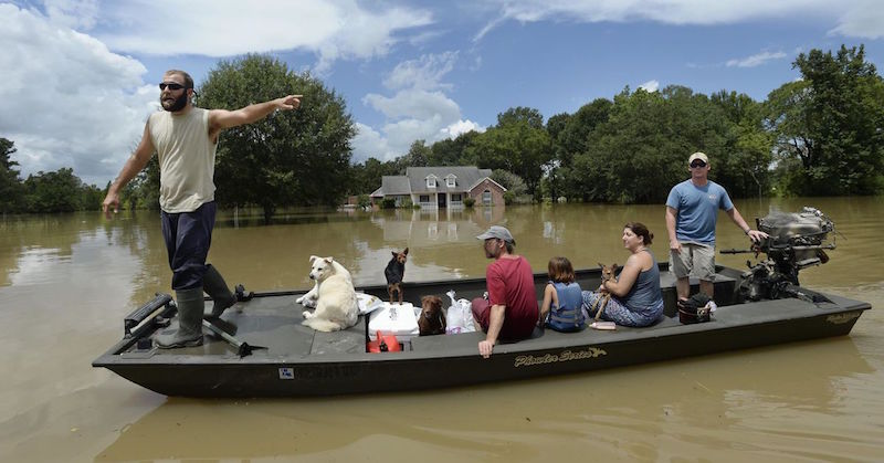 """Cajun Navy"" Saves Thousands; Gets SICKENING News From LA ..."
