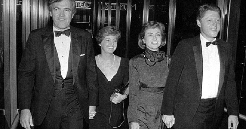 clintons and vince foster
