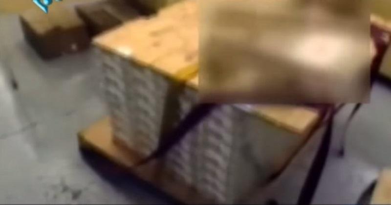pallets of cash