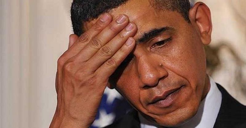 Barack Obama Frustrated Mistake