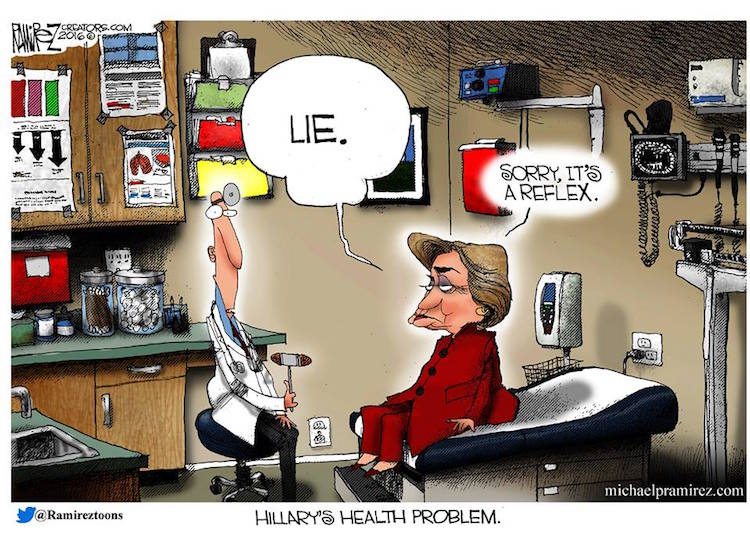 Image result for health lies cartoon