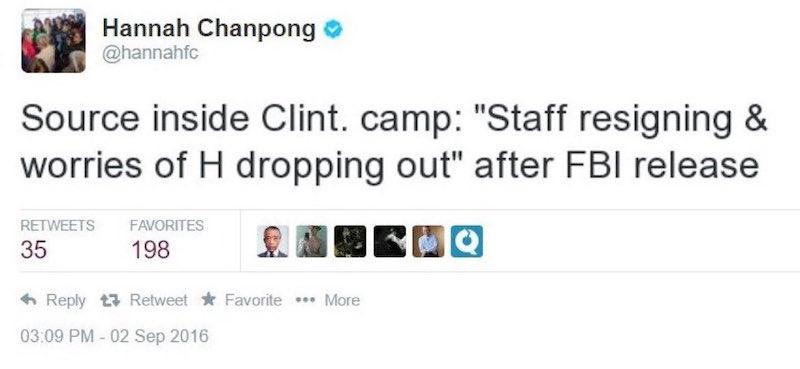 deleted tweet