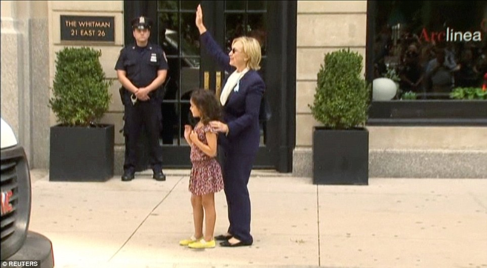 hillary-hugging-girl