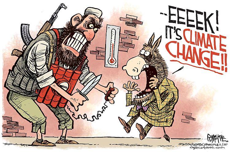 Image result for islamic terror cartoon