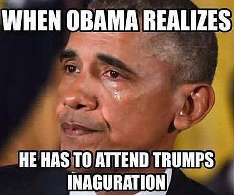 obama trump inauguration boom hilarious meme reveals obama's greatest fear