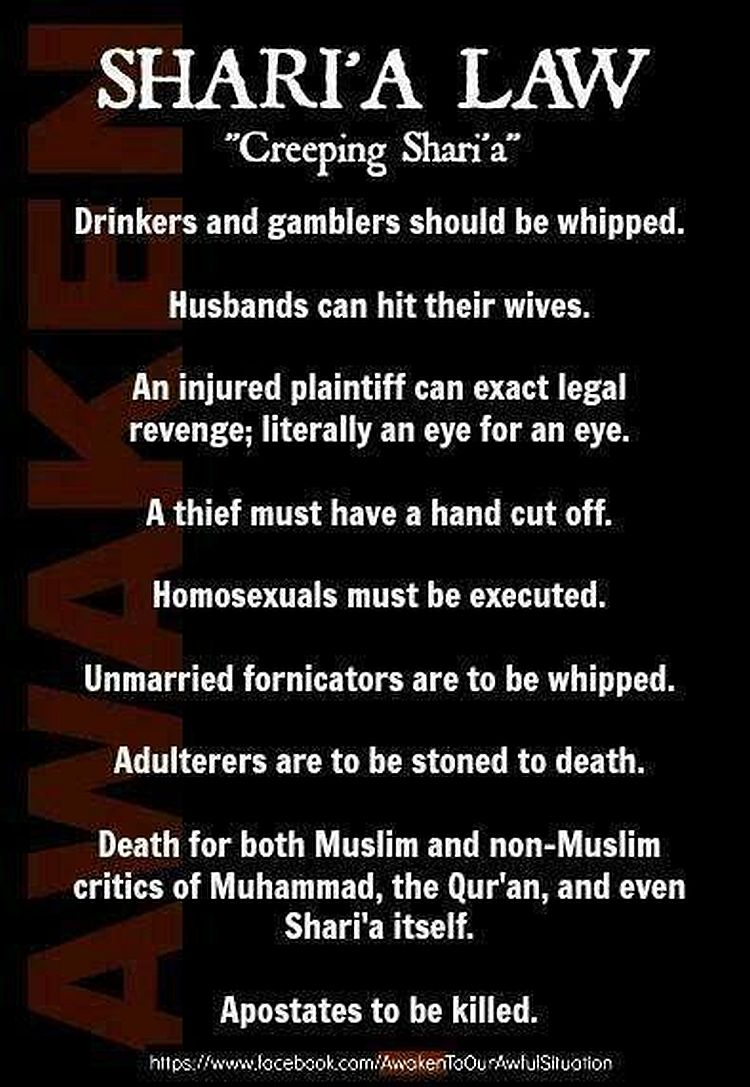 the brutal truth about islamic law the left wants to hide