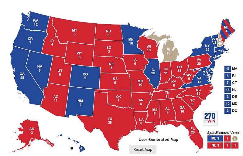 UHOH This Electoral Map Should TERRIFY Every Conservative in the