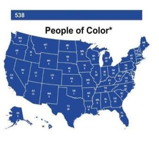 2016 US Presidential Electoral Map If Only [X] Voted