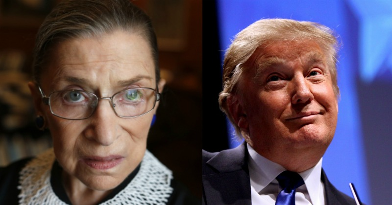 Trump Preparing To Replace Ginsburg As Rumors Say She Could Retire Today
