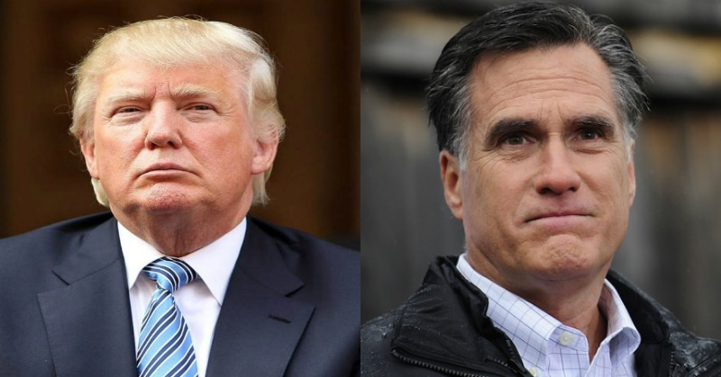 Mitt Romney Makes Statement Against Trump In Ukraine Scandal
