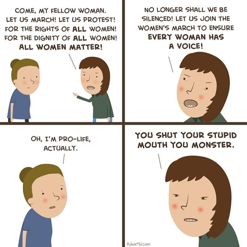 Feminist Hypocrisy On All Women Matter Brutally Exposed