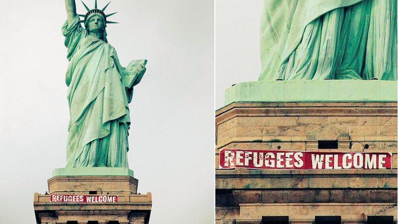 refugeeswelcomebanner