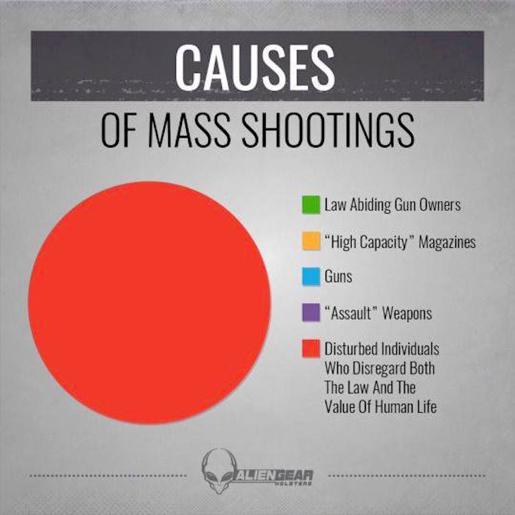 Chart Reveals HARD TRUTH About Mass Shootings And Gun Control