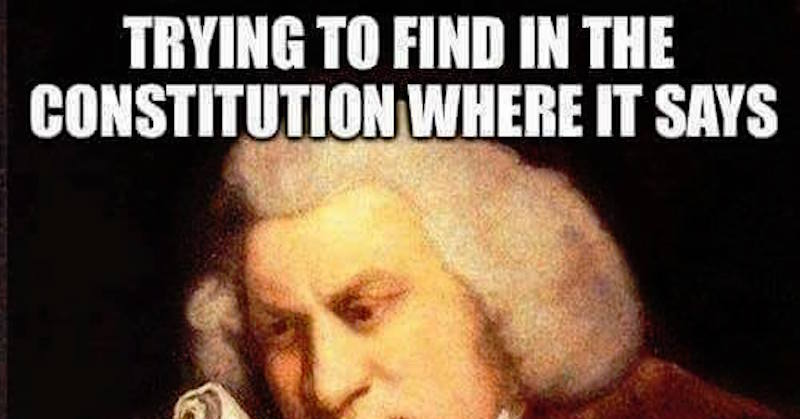 hilarious meme shows why liberals need a living constitution