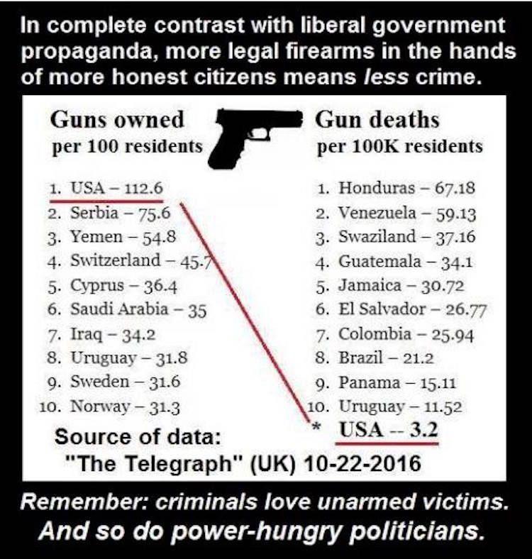 The Truth About Guns and Violence, By the Numbers