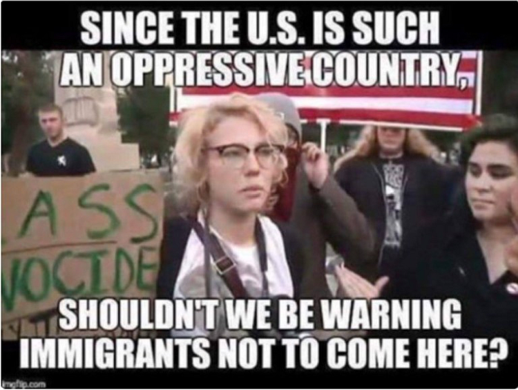 hypocrisy immigration liberal hypocrisy on immigration brutally exposed [meme]