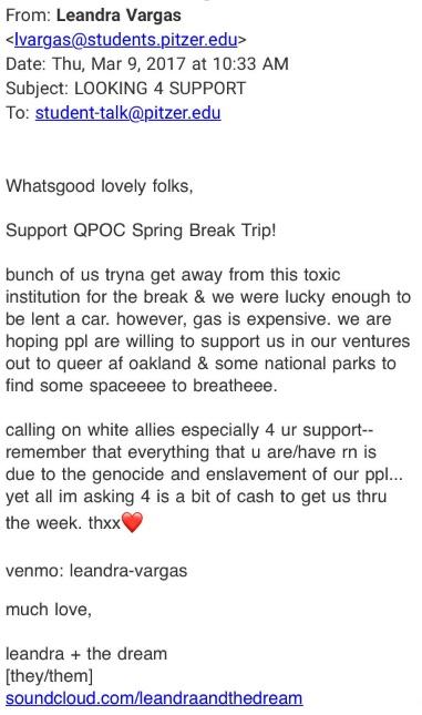white guilt email