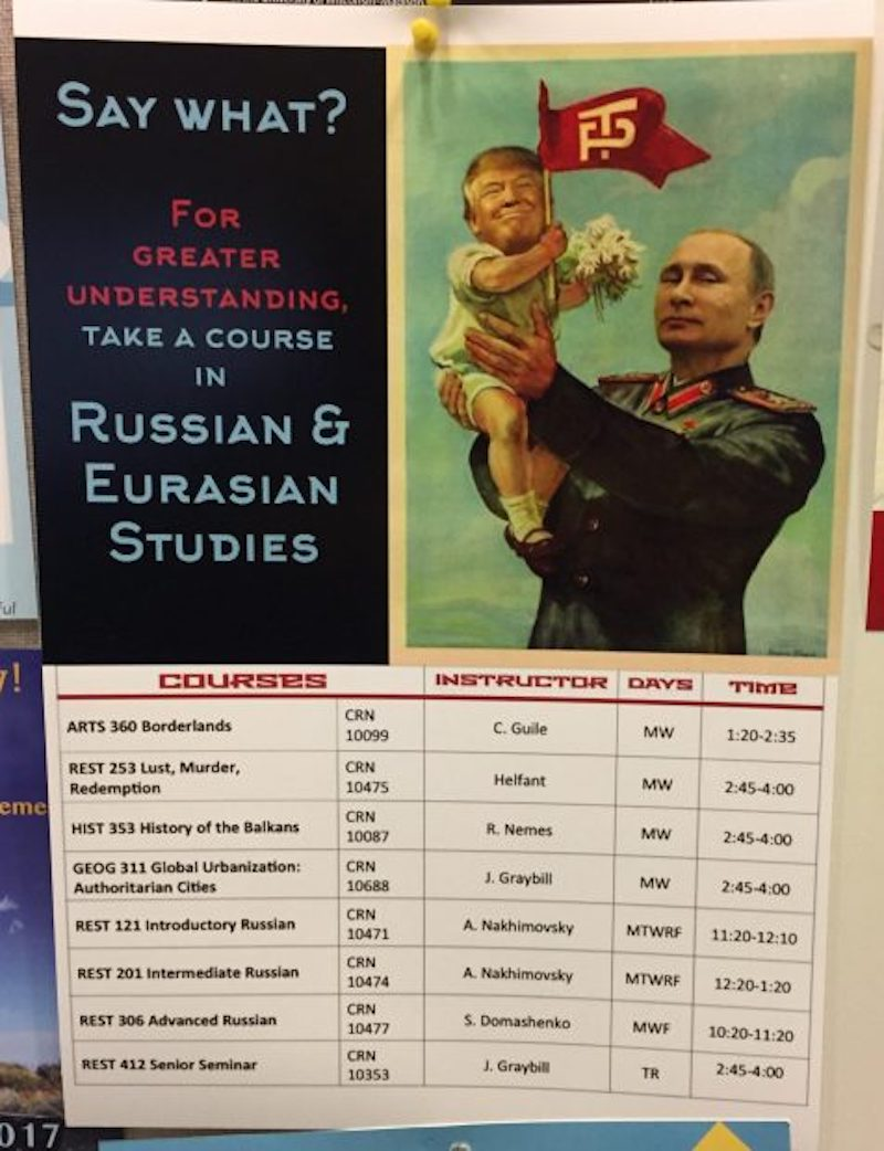 Studies and russian it is