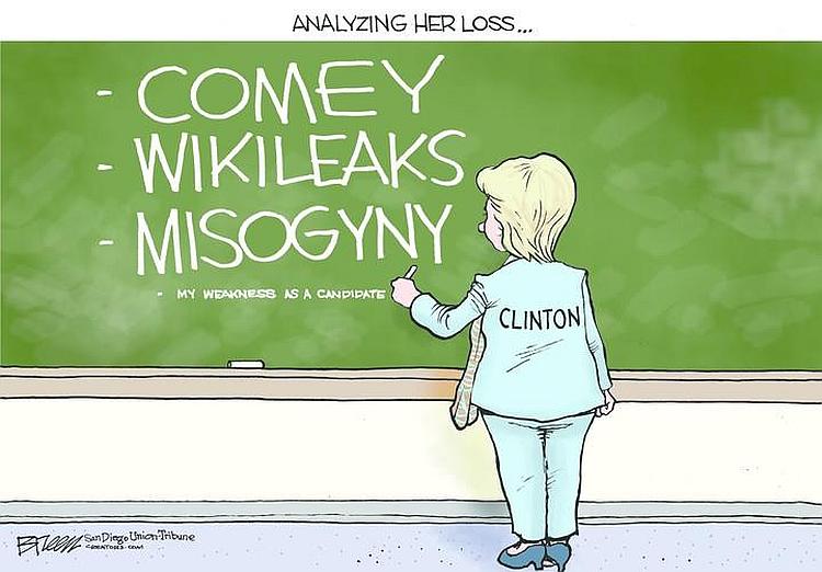hillary denial