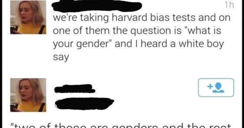 Lib's Nervous Breakdown When Classmate Said This About Gender