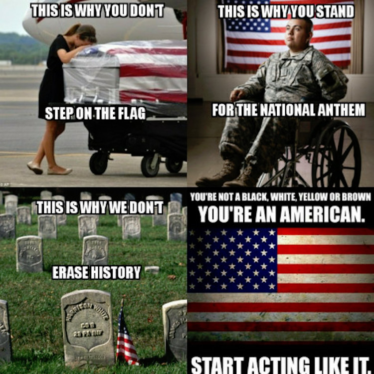 20992862_10159114393770431_7600507765189342692_n 1 powerful meme sums up importance of acting like an american
