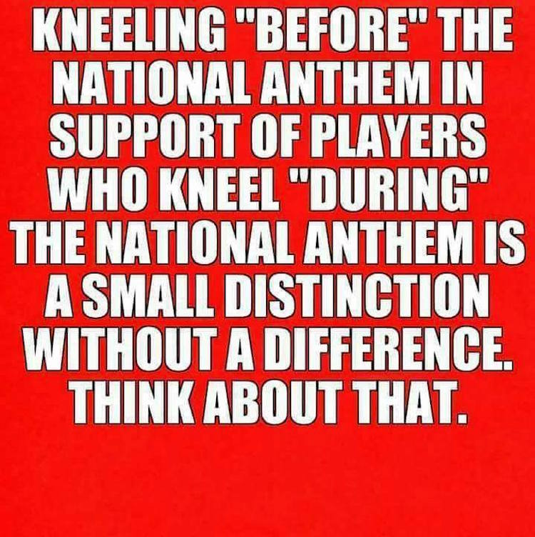 Hard Truth: Why There's No 'Good' Way to Kneel for the ...
