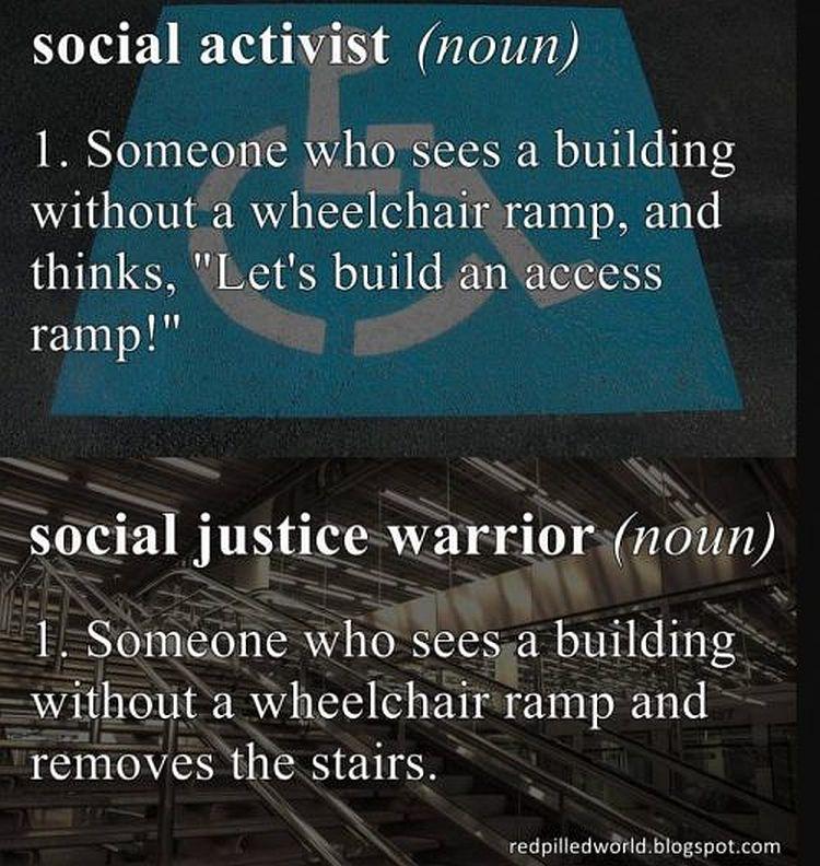 Social Activist vs Social Justice Warrior Brilliantly ...