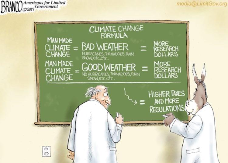 why climate change hype is exact opposite of scientific method cartoon BrainPOP Scientific Method