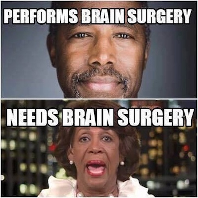 Quotes About Anger And Rage: Ben Carson Vs. Maxine Waters HILARIOUSLY Compared