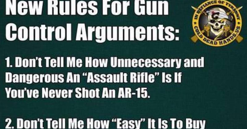 how to win the gun control argument against liberals The fundamental differences between left-wing and right-wing ideologies center around the the rights of individuals vs the power of the government left-wing beliefs are liberal in that they believe society is best served with an expanded role for the government people on the right believe that the best outcome for society is achieved when individual.