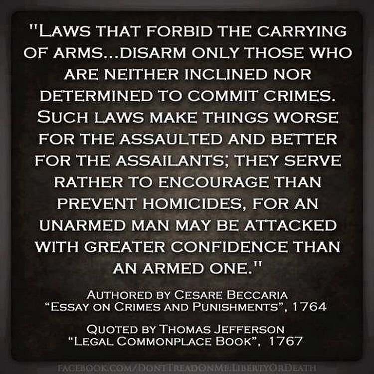 "thomas jefferson reveals the truth about gun control  thomas jefferson reveals the truth about ""gun control"""
